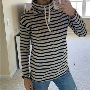 Loft mock neck sweatshirt